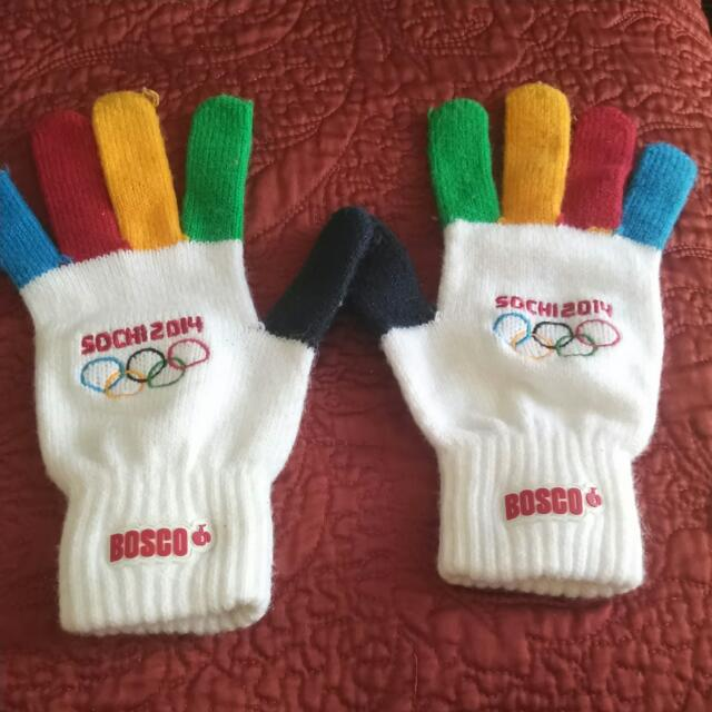 Sochi Olympic Gloves