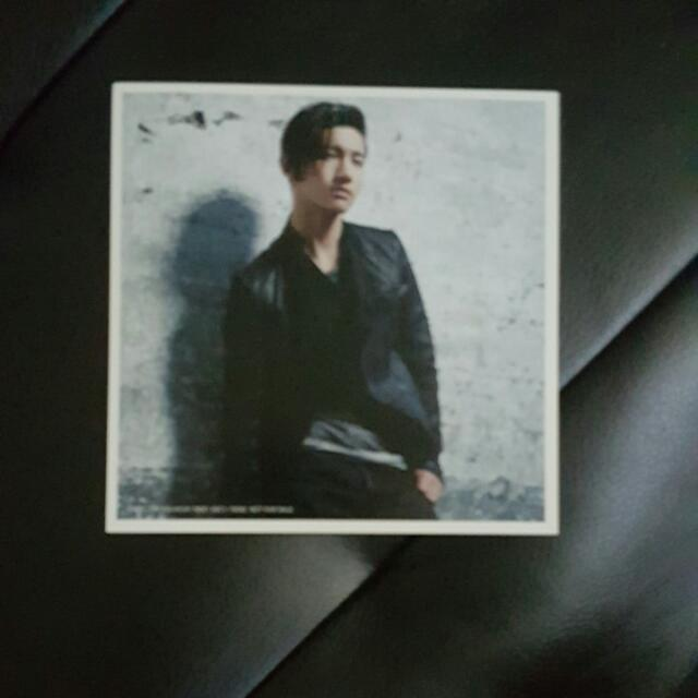 TVXQ Tohoshinki Changmin Photocard