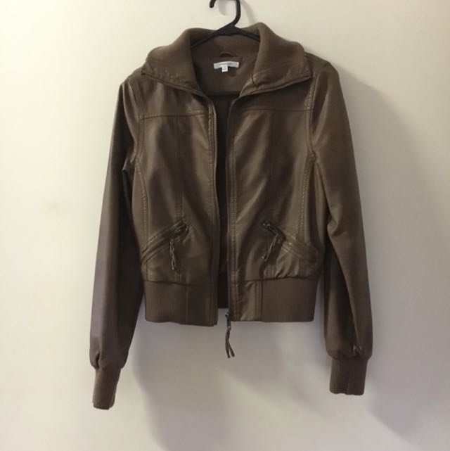 Valleygirl Brown Leather Jacket