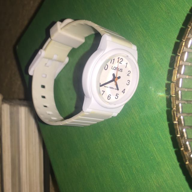 white water proof watch