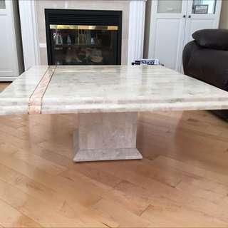 3pc Stone Table Set