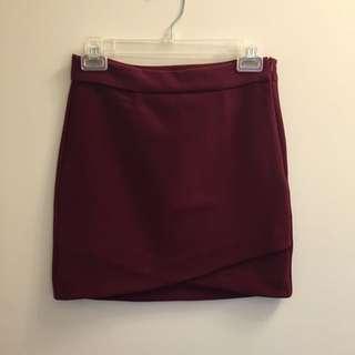 Maroon Skirt | $5