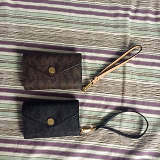 2X Michael Kors Phone Case-Wristlets