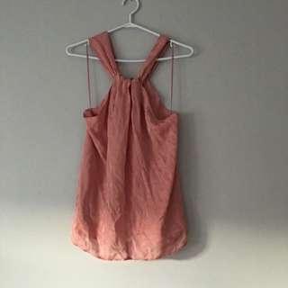 Zara Small Peach Top