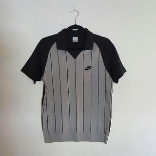Nike 90s Baseball Style Top (Size S-M)
