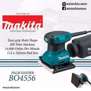 MAKITA FINISHING SANDER - BO4556