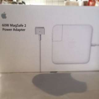 60W MagSafe 2 Power Adapter NEW! UNTOUCHED