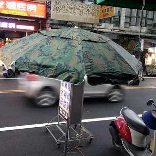 彎傘,太陽傘含支架