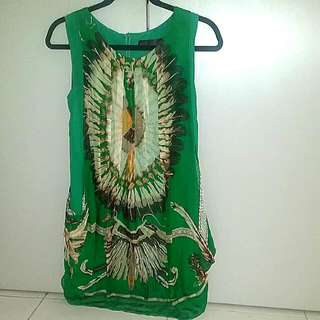 Tribal FEATHER Motif tunic / Dress.