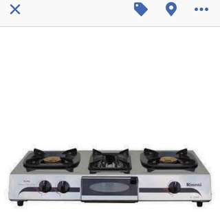 Rinnai 3in1 Gas Stove. With Toaster And Griller #jollibee