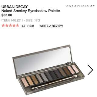 Urban Decay Smokey Palette