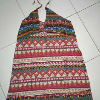 mini dress songket