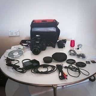 Canon EOS Rebel T3i / 600D 18.0 MP Digital SLR Camera - Black