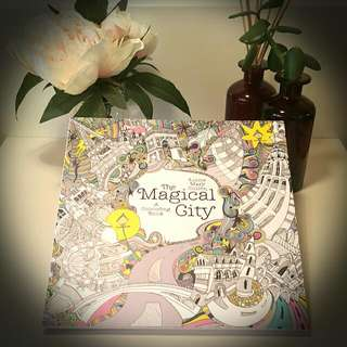Colouring Book, The Magical City - Lizzy Mary Gullen