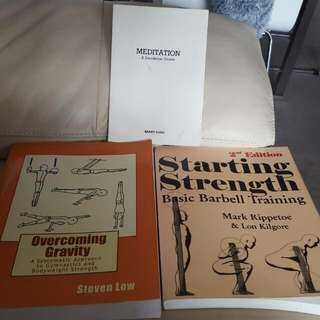 Weightlifting/strength Books
