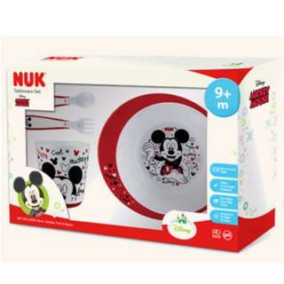 BNIB Nuk Disney Tableware Set (Mickey Mouse)