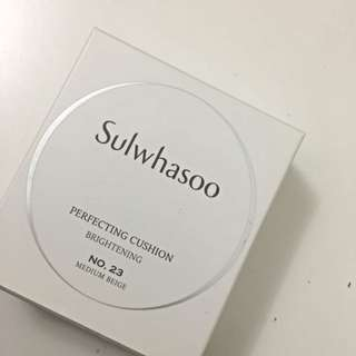 Sulwhasoo Perfecting Cushion Brightening 23