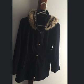Navy Winter Coat Size 8