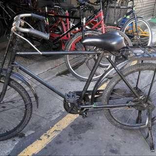 古董武車 腳踏車