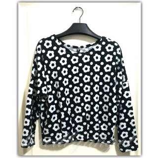 Sweater-type Blouse (080816-3BLA)
