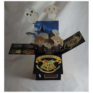 Harry Potter Exploding Card