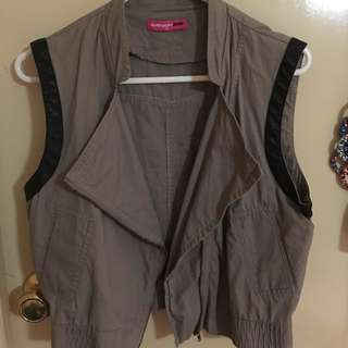Valley Girl Crop Vest