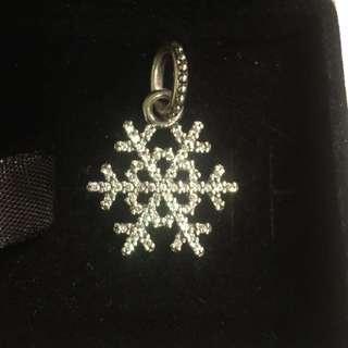 Snowflake PANDORA charm (authentic)