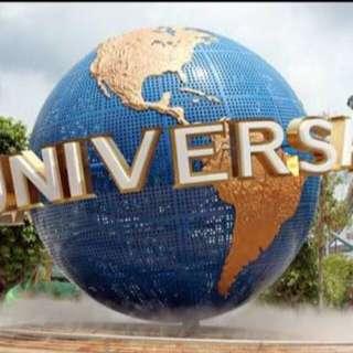 Universal Studio Uss Ticket / Garden By The Bay / Adventure Cove