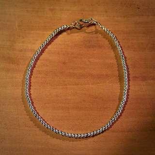 《手做設計》純銀圓珠手鍊