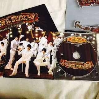 Super Junior 一巡 韓版DVD