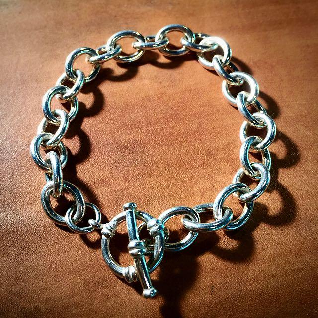 《手做設計》純銀海軍風手鍊