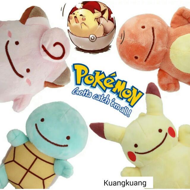 超可愛 神奇寶貝 pokemon 玩偶 吊飾 皮卡丘 傑尼龜 小火龍 皮皮 妙蛙種子