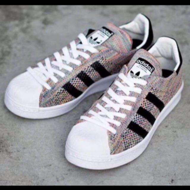 愛迪達 Adidas Superstar Primeknit 彩虹鞋 慢跑鞋 男女鞋款