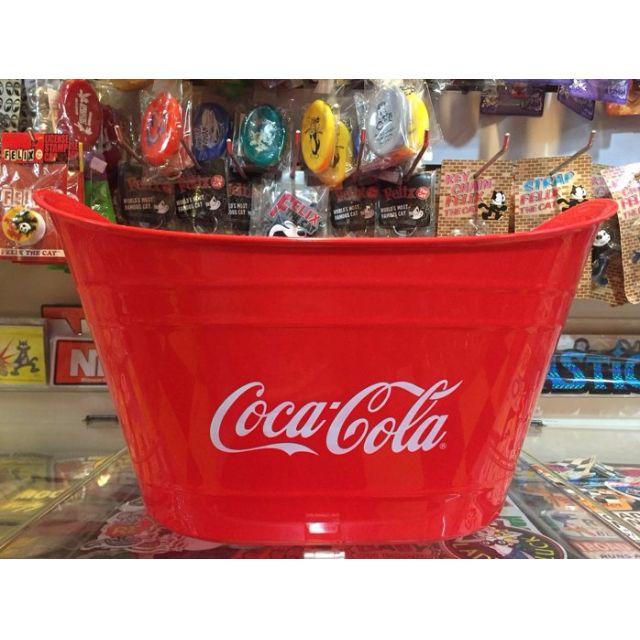 可口可樂 Coca-cola 寬口型容器收納/置物/擺飾/裝飾皆可