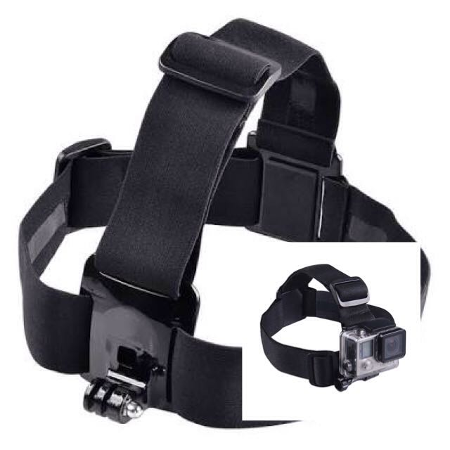 Adjustable Head Strap For Action Camera Like Gopro Sjcam Xiaomi Yi