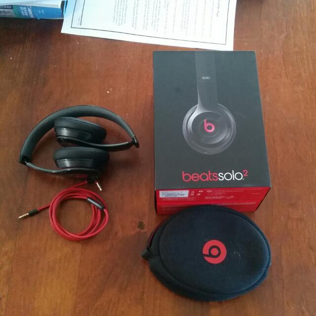Beats Solo2 Blk/Red