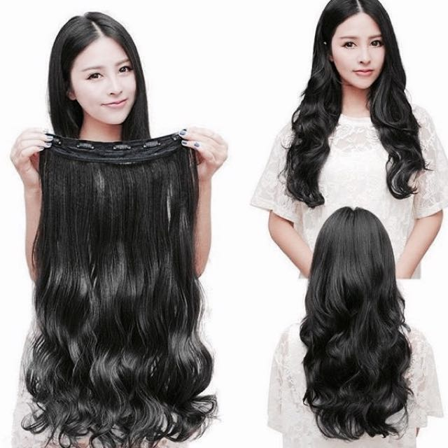 Black Curly Hair Extension