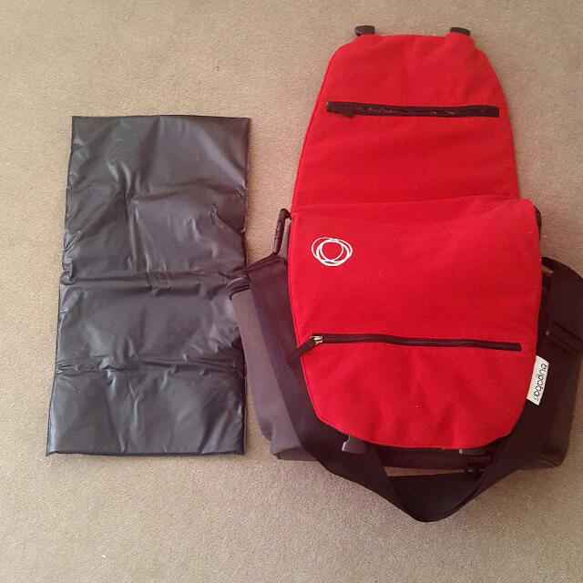 Bugaboo Fleece Diaper Bag