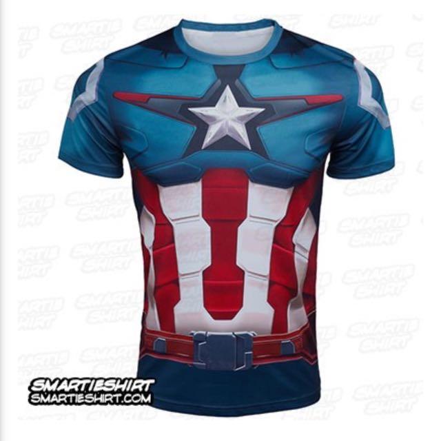Captain America Supershirt