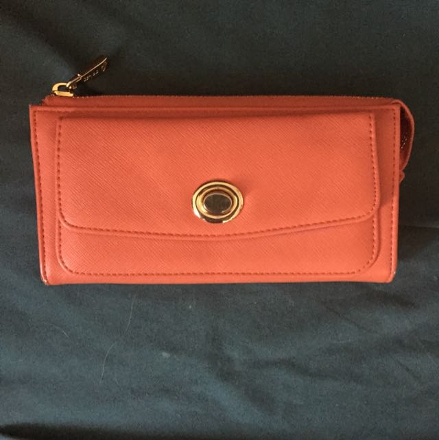 Co-Lab Orange Wallet