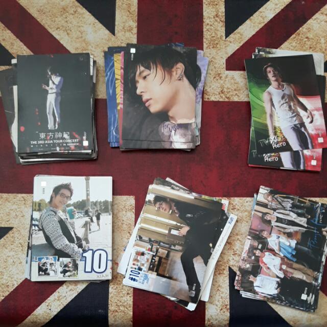 DBSK / Dong Bang Shin Ki Star Collection Card