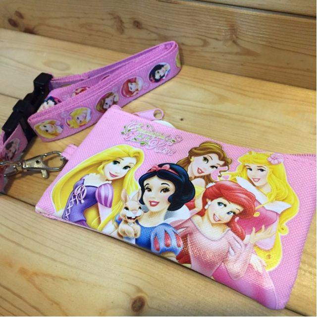 Disney 迪士尼 小美人魚 白雪公主 貝兒 奧蘿拉 睡美人 長髮公主 魔髮奇緣 零錢包