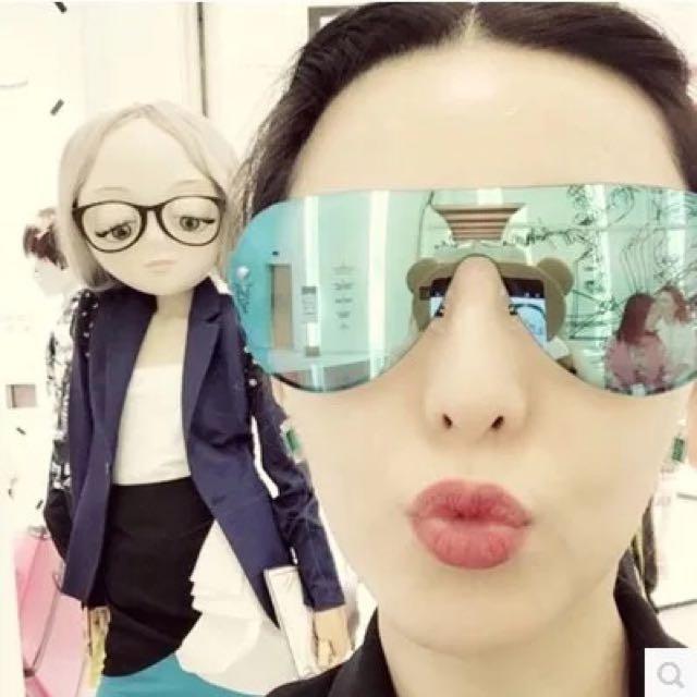 Fashion Sunglasses (Blue)