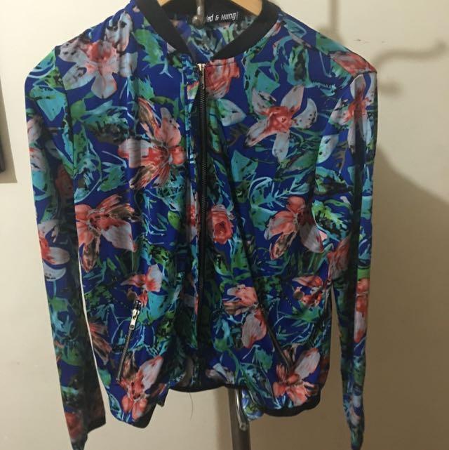 F&h Floral Jacket