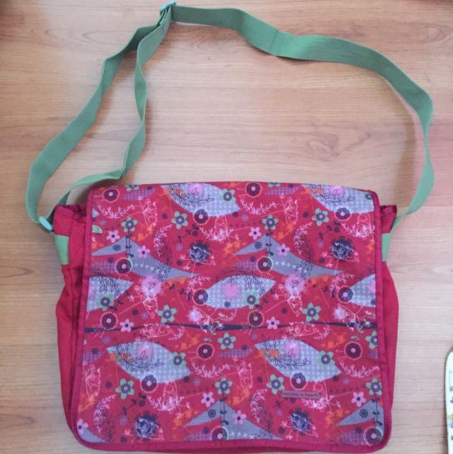 Flowers Sling Bag