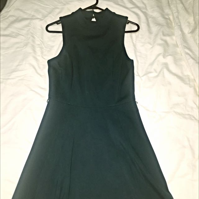 Forever New Teal/dark Green Dress $10