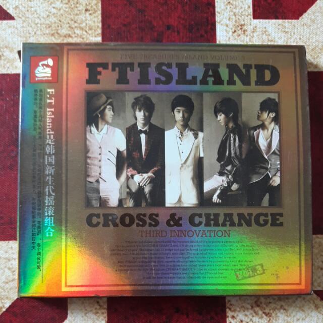 FT Island 3rd Album Cross & Change