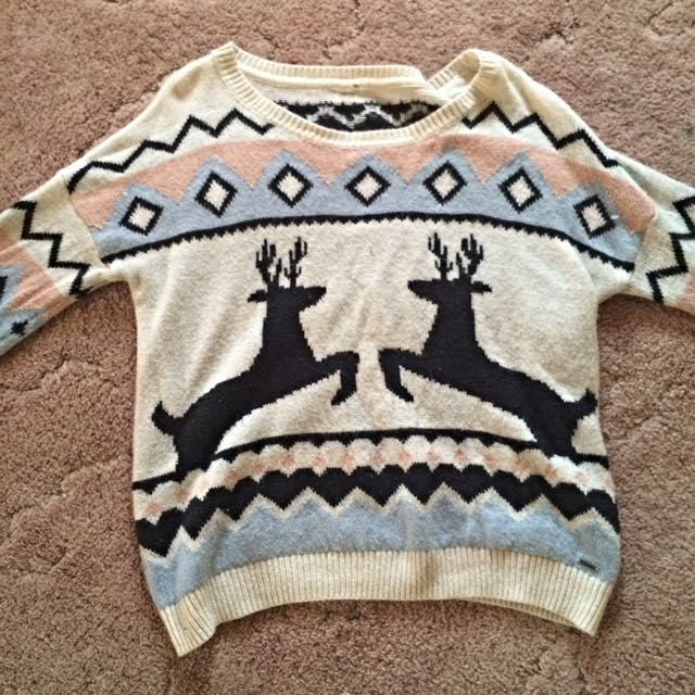 Garage Christmas Sweater