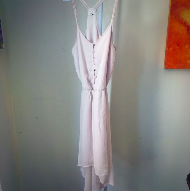 Garage Summer Dress Light Pink