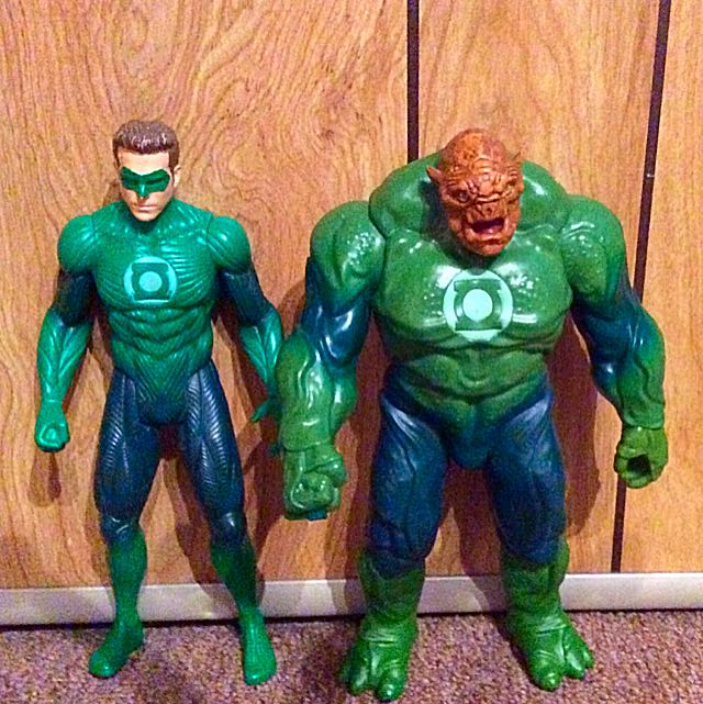 Green Lantern And Other Character